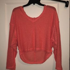 Neon Pink Urban Outfitters Sweater